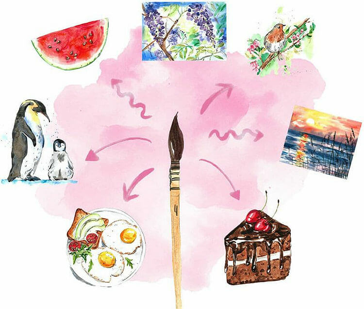 Get started with watercolor course