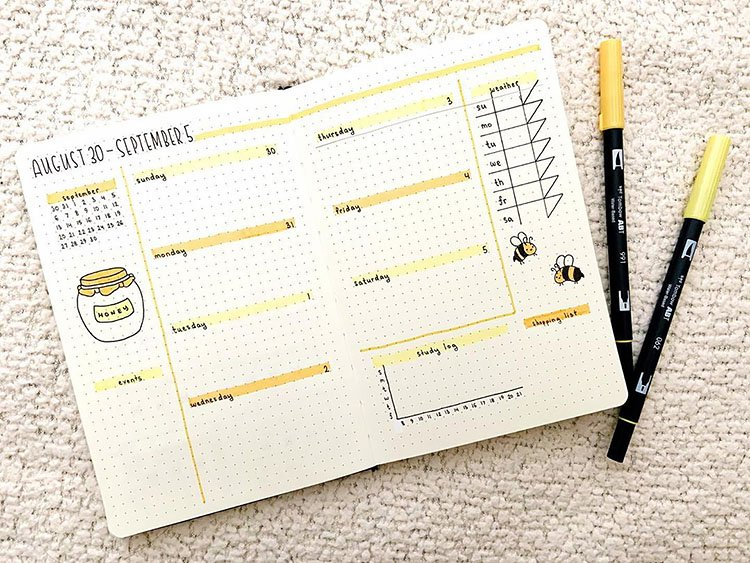BEES AND HONEY PLANNER