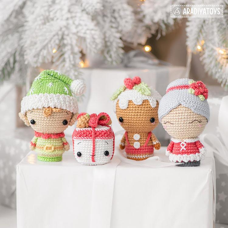 CHRISTMAS MINIS SET 2