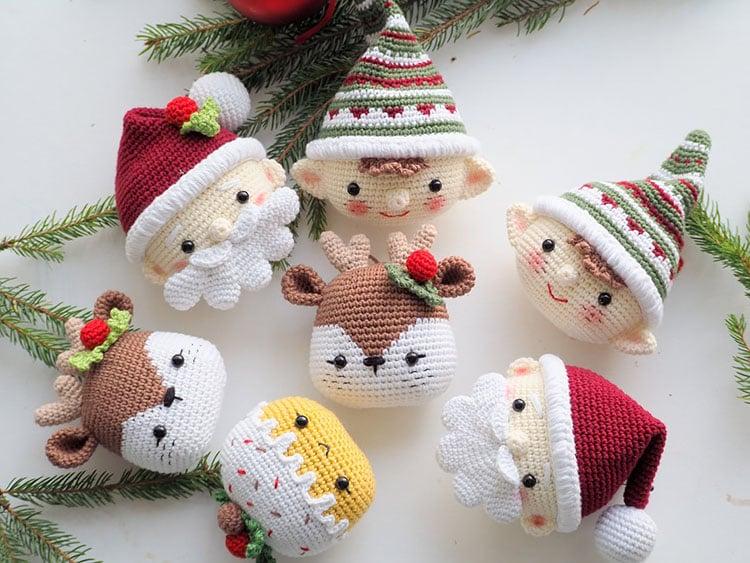 CROCHET CHRISTMAS DECORATION AMIGURUMI