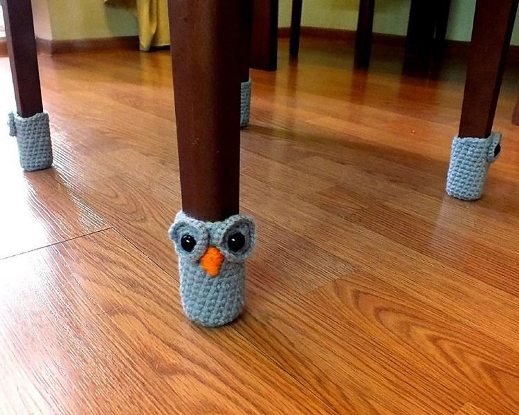 HANDMADE OWL CHAIR SOCKS