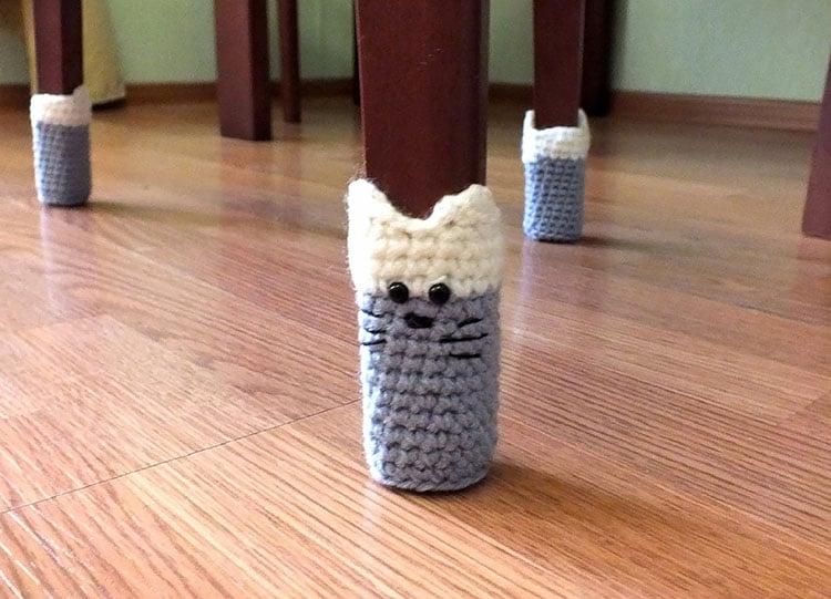 HANDMADE CAT CHAIR SOCKS