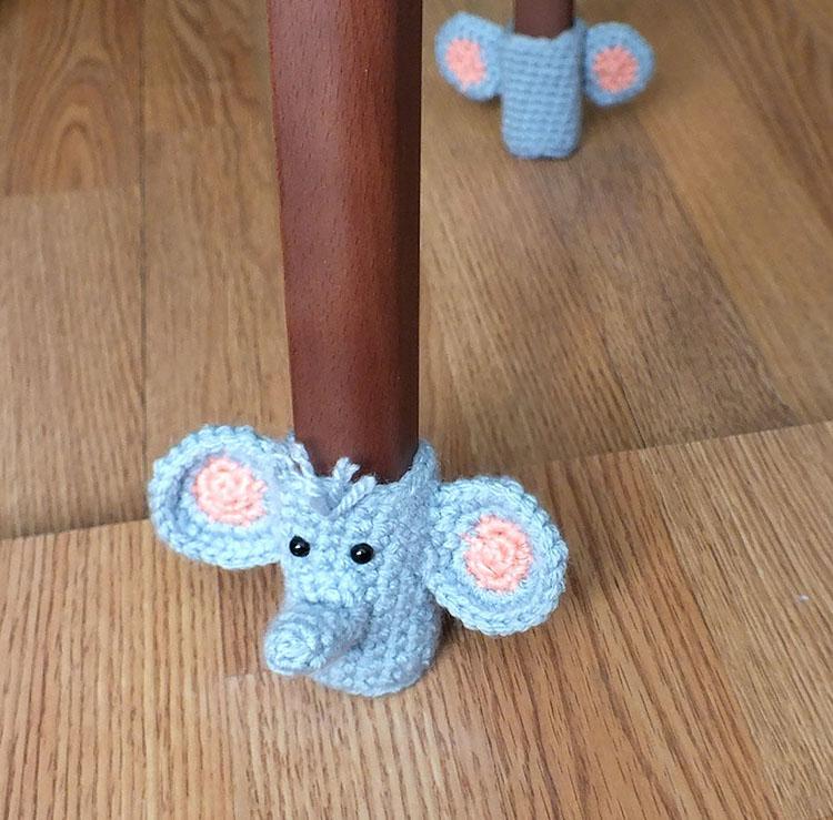 HANDMADE ELEPHANT CHAIR SOCKS