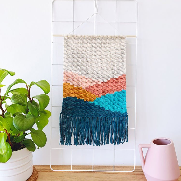 HILLS WALL HANGING TAPESTRY