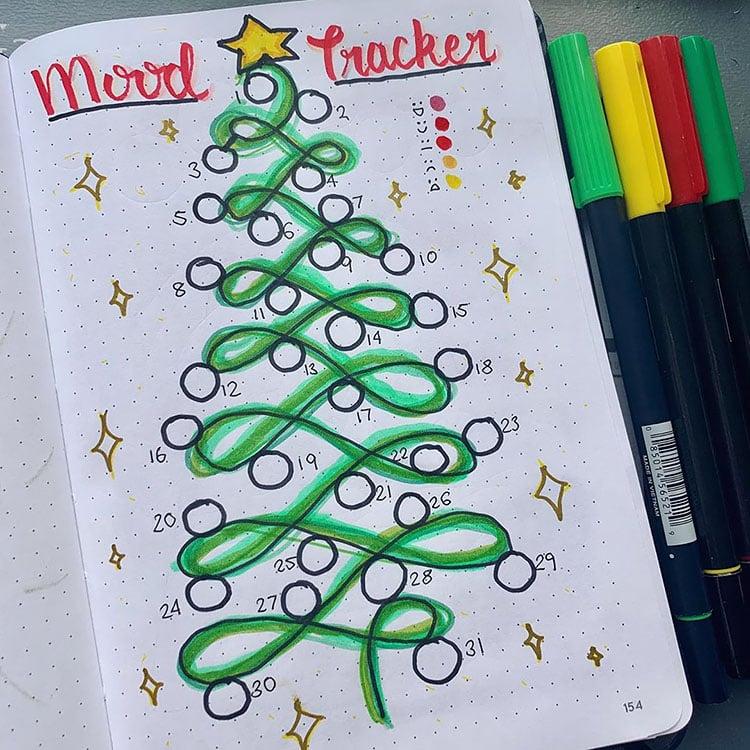 CHRISTMAS TREE MOOD TRACKER