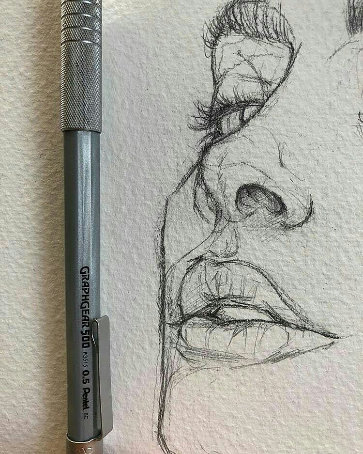 QUICK SKETCH of face