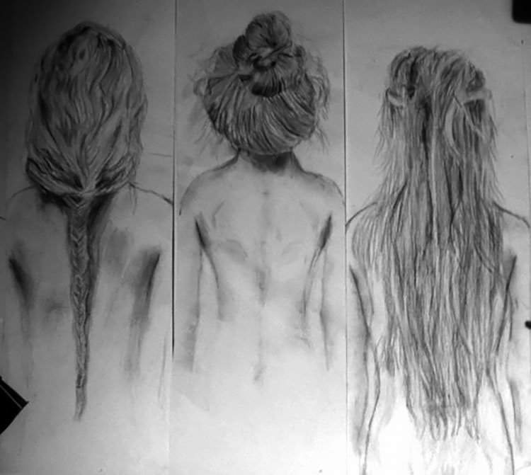 HAIRSTYLES FROM BEHIND