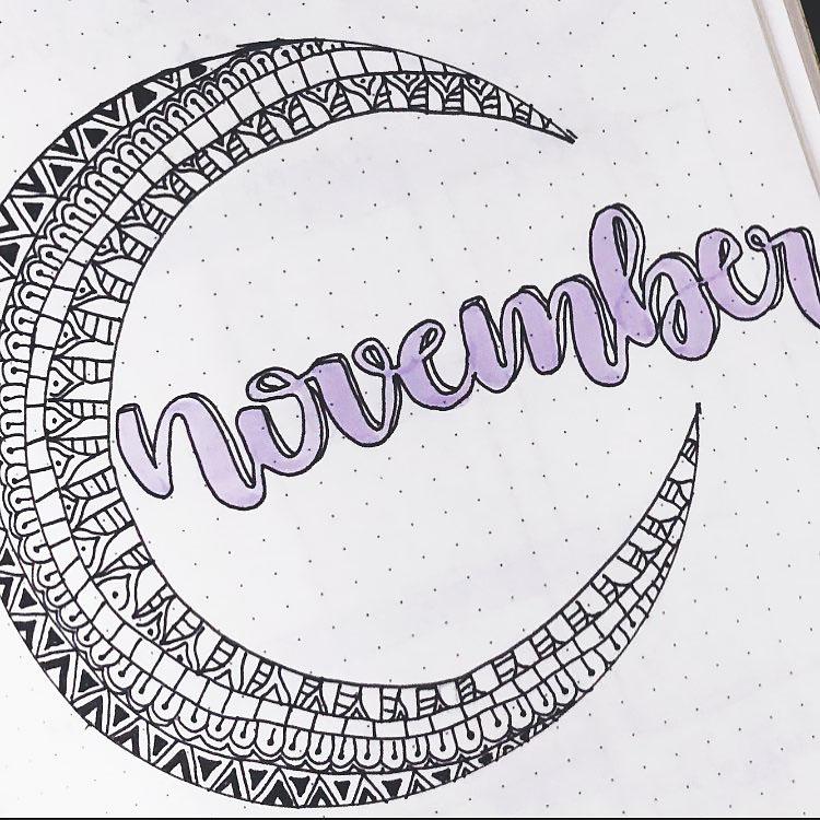 NOVEMBER WITH MOON