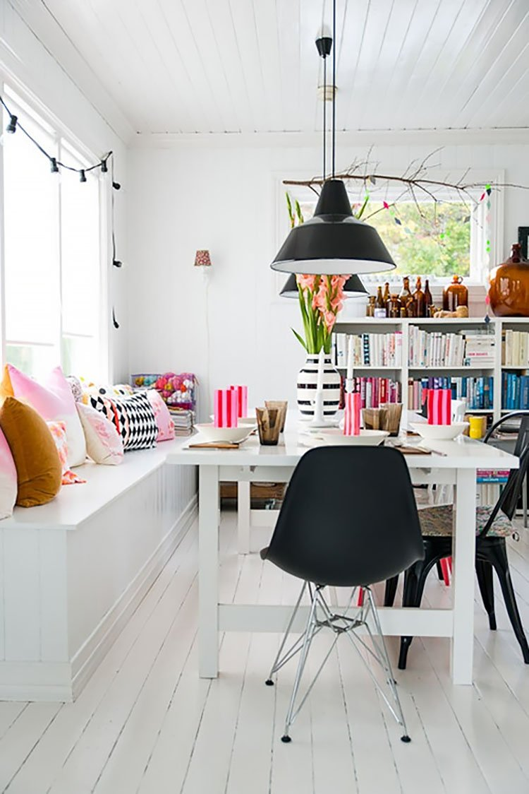 office with books