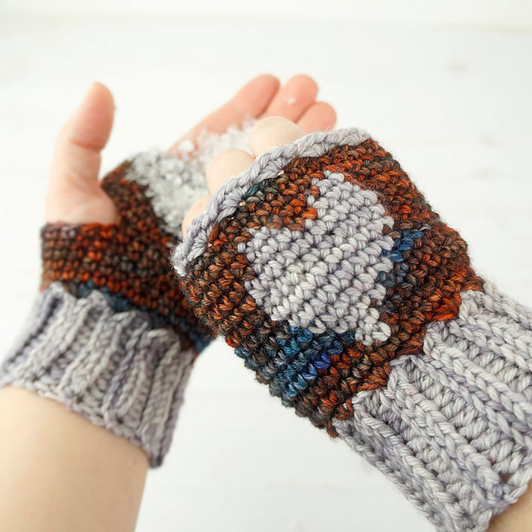 HEART MITTS
