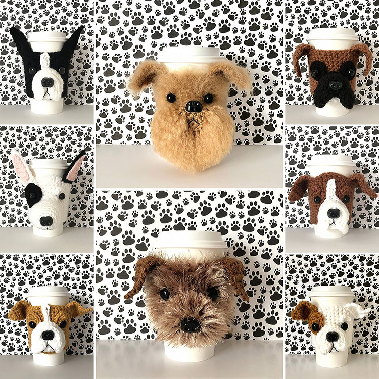 DOG CUP COZY PATTERNS