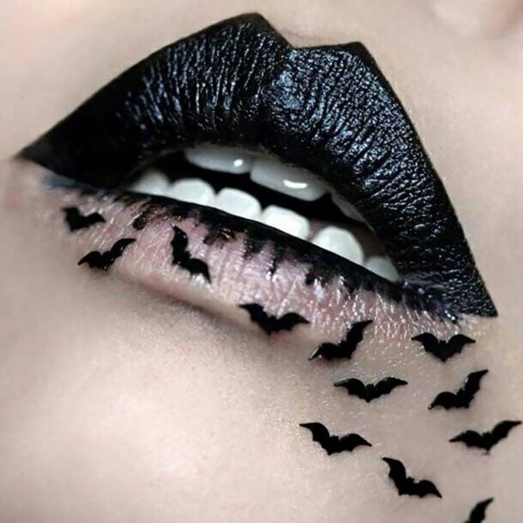 bat lipstick design
