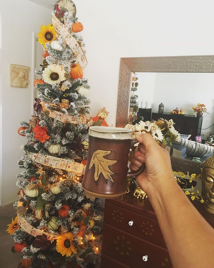 skinny thanksgiving tree