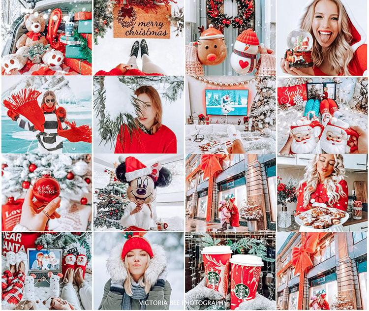 25 Christmas Presets for Lightroom
