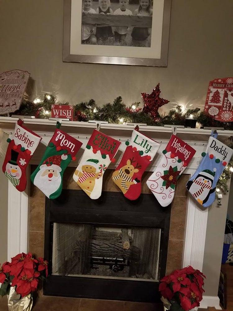 CHRISTMAS CHARACTER STOCKINGS