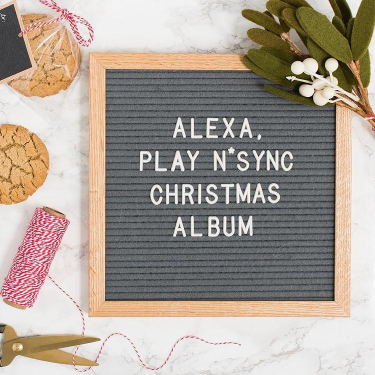 Play N*Sync Christmas album