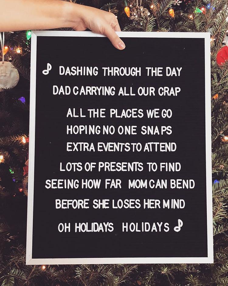 DASHING THROUGH THE DAY