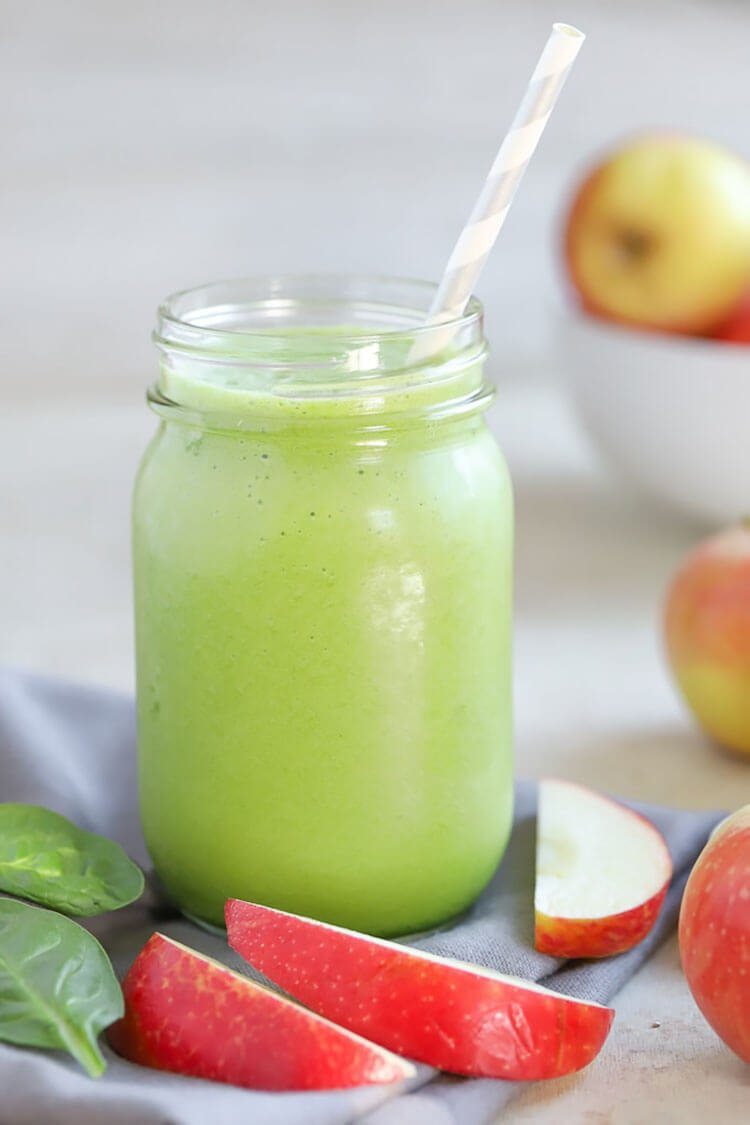 Healthy Green Apple Smoothie