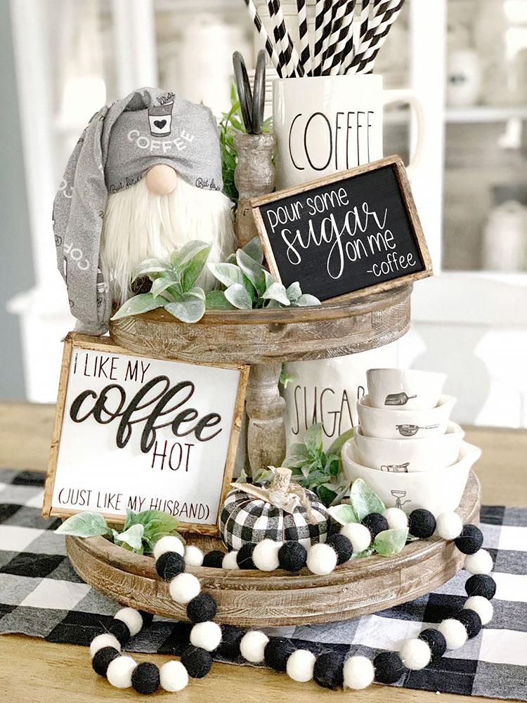 I LIKE MY COFFEE HOT coffee bar