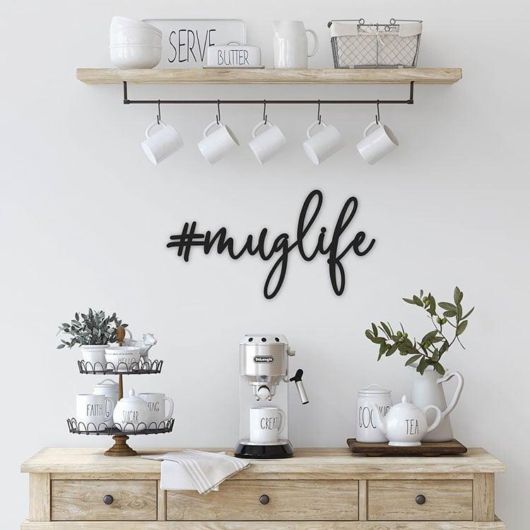 MUG LIFE SIGN coffee bar