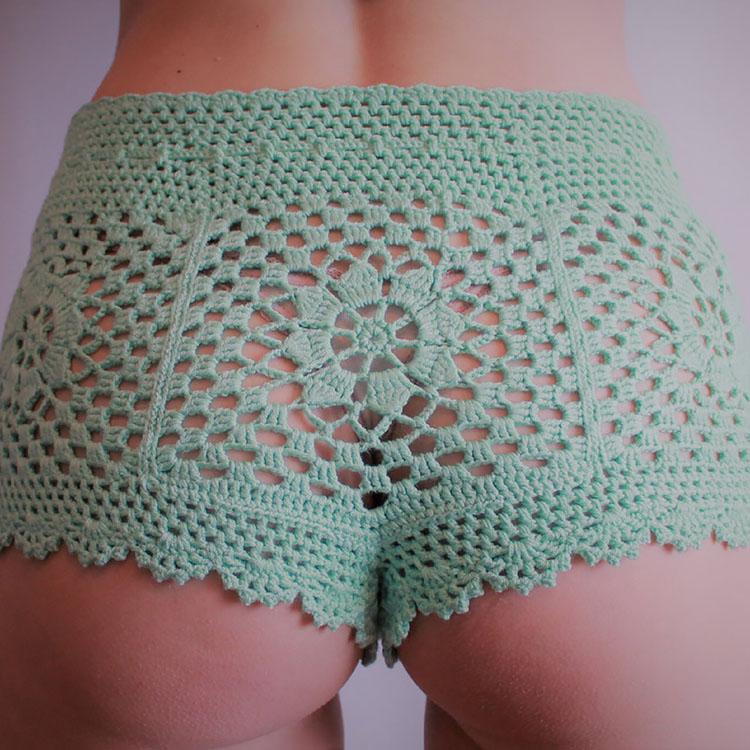Crochet BEACH SHORTS pattern