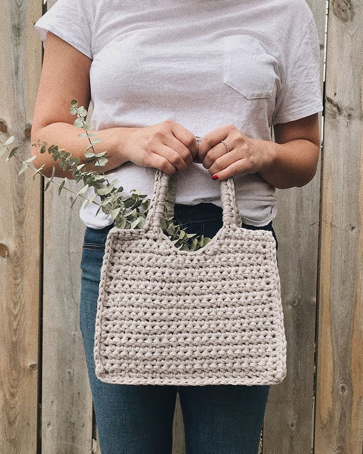 THE STRUCTURED SQUARE BAG