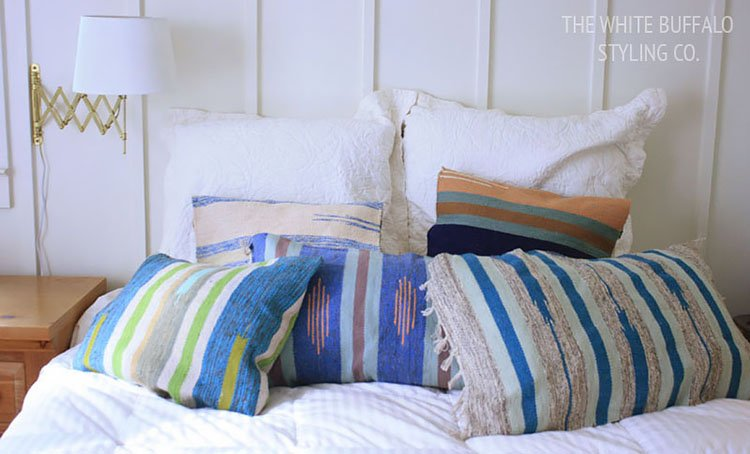 TEXTURED BOHEMIAN PILLOWS