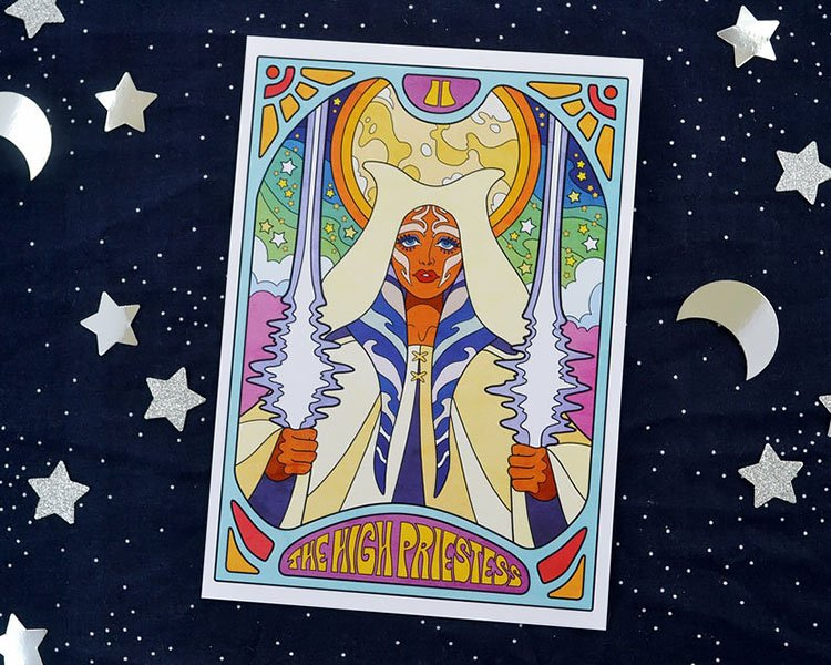 THE HIGH PRIESTESS ART PRINT