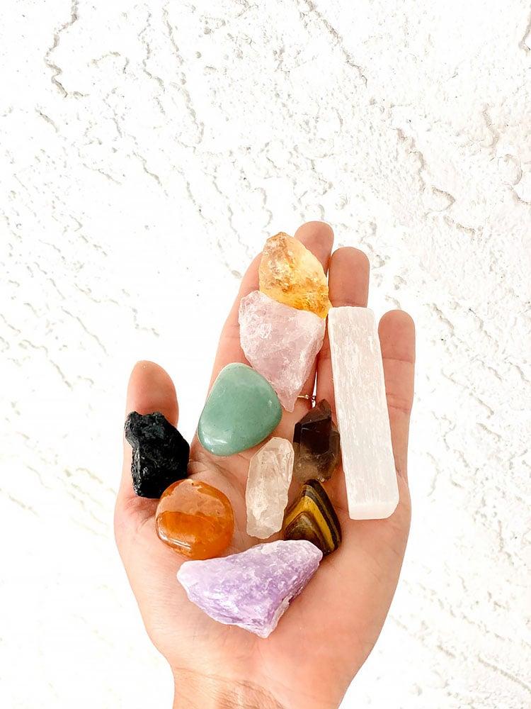 beginners crystals set