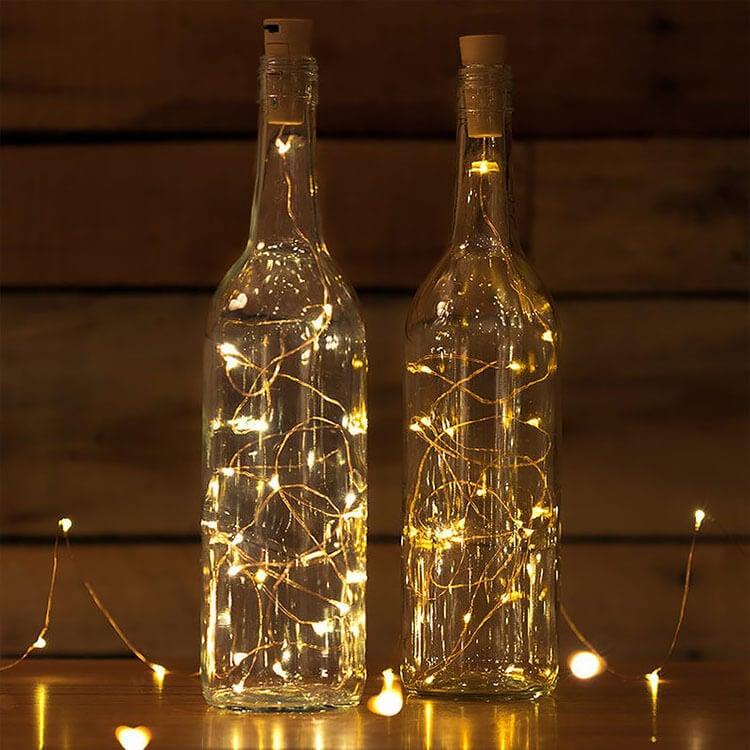 WINE BOTTLE CORK LIGHTS