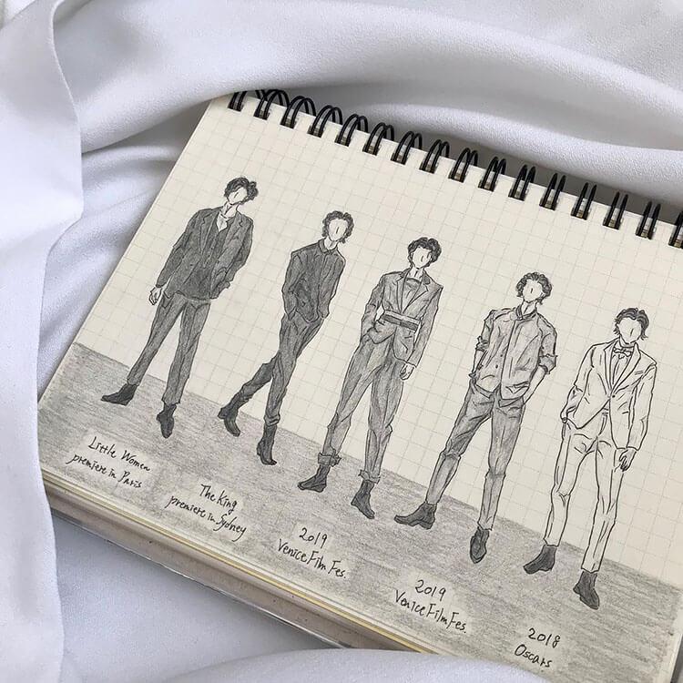 five men outfits