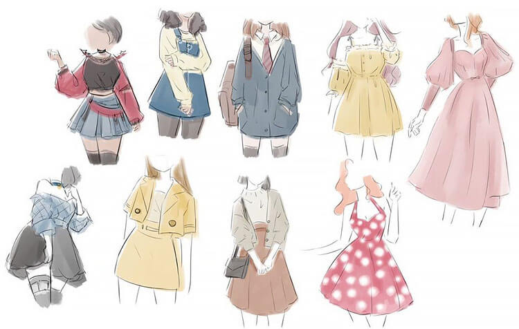 different outfits for women
