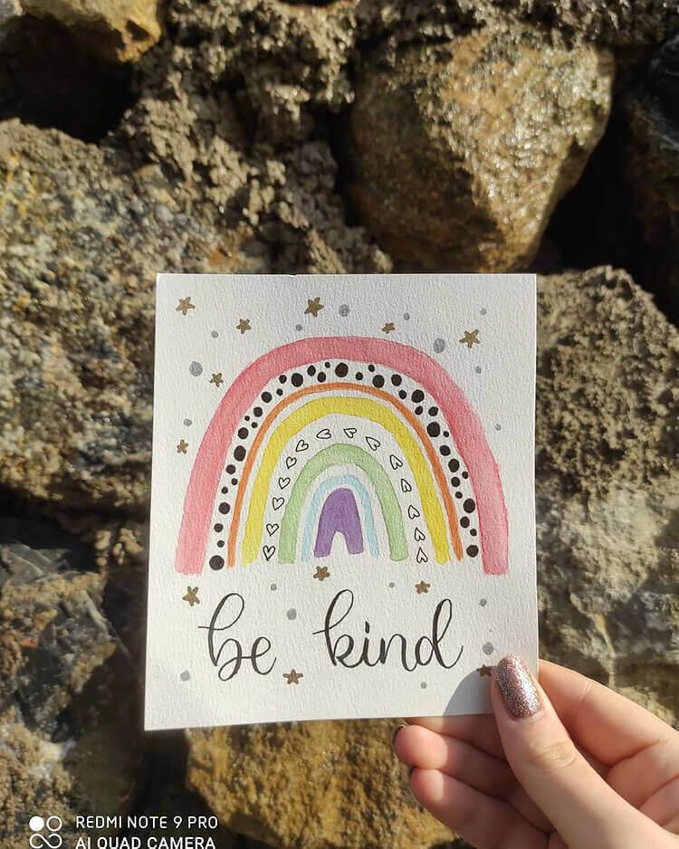 be kind rainbow