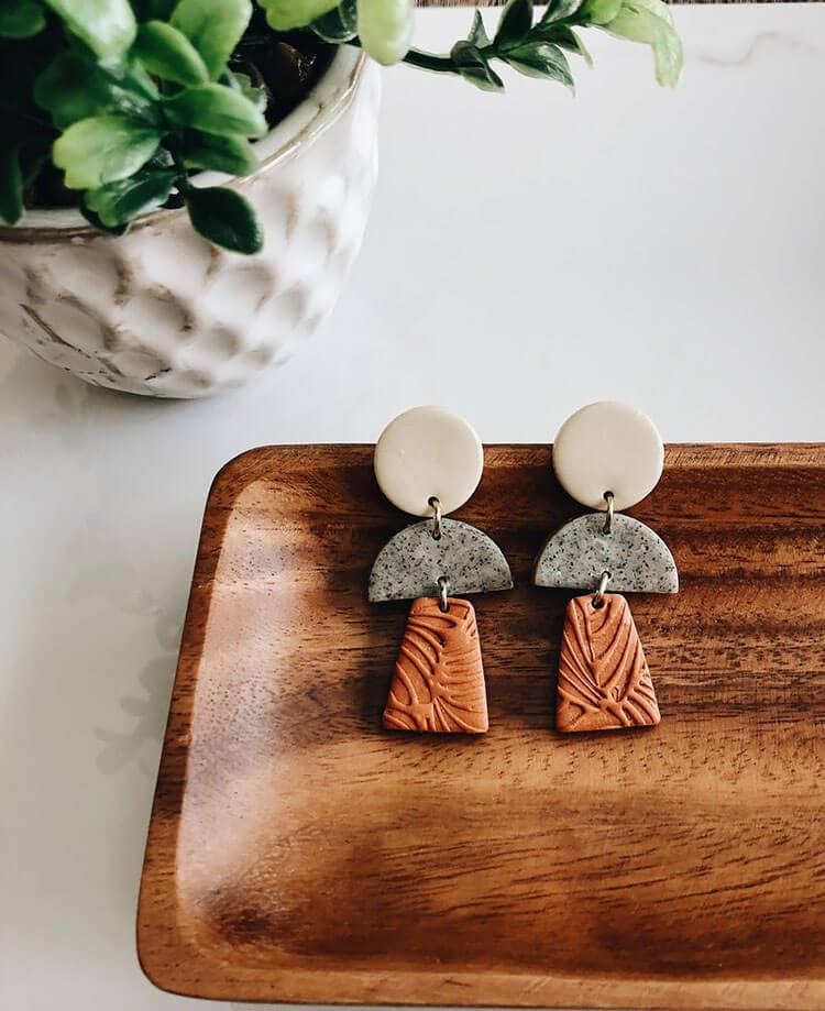 TERRA-COTTA EARRINGS