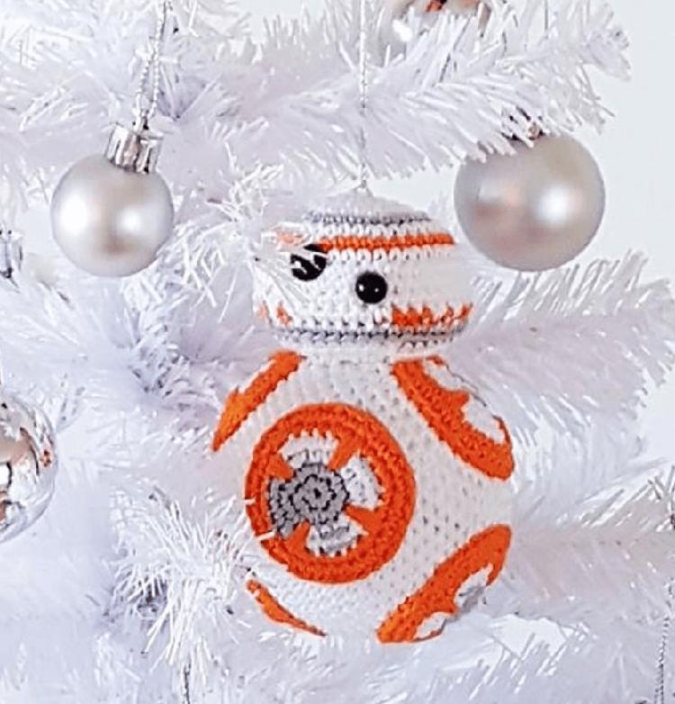 BB-8 CHRISTMAS BAUBLE