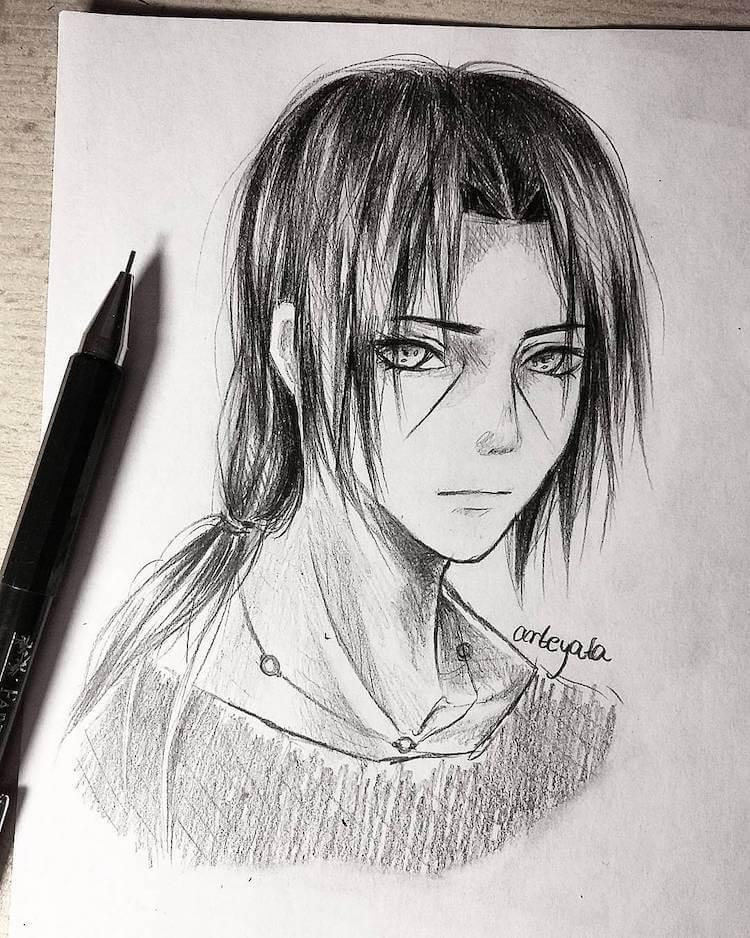 itachi drawing