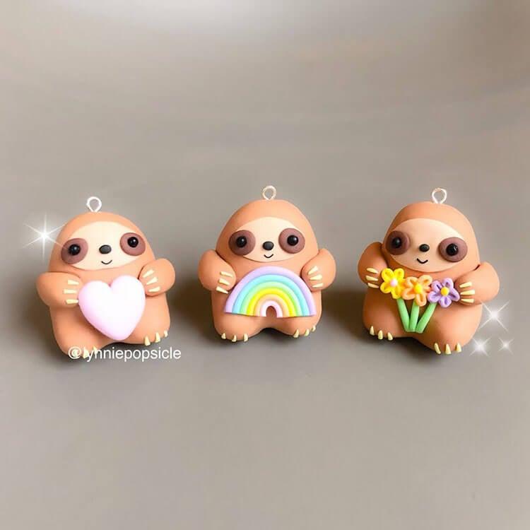 sloth charms