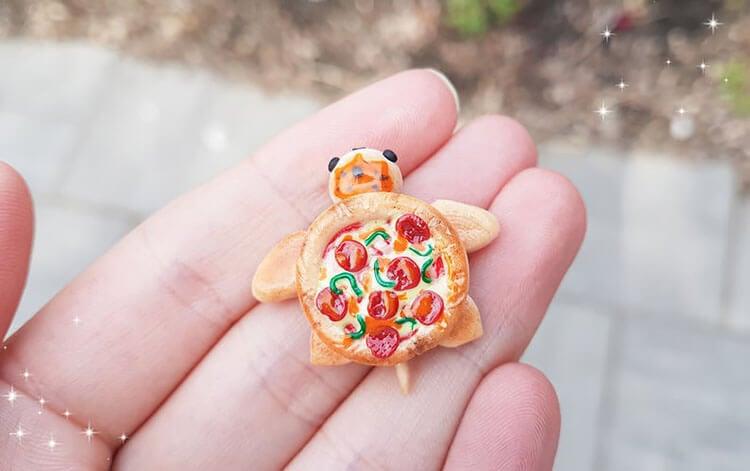 pepperoni pizza turtle