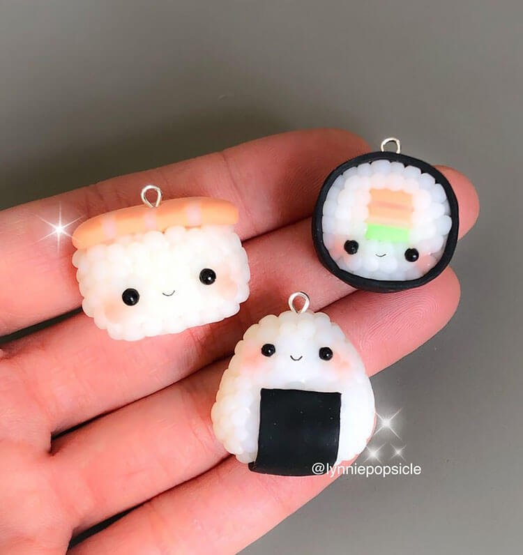 sushi charms