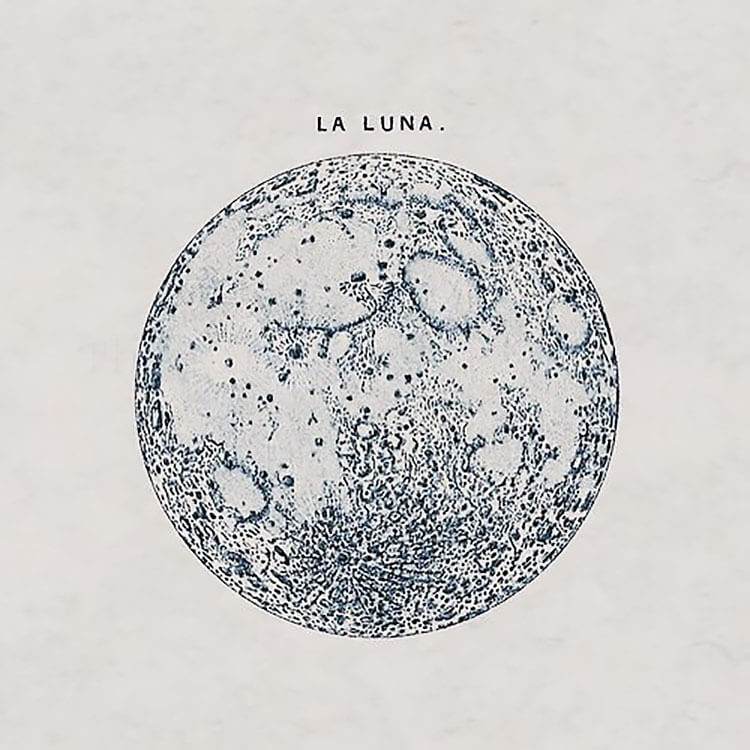 realistic la luna