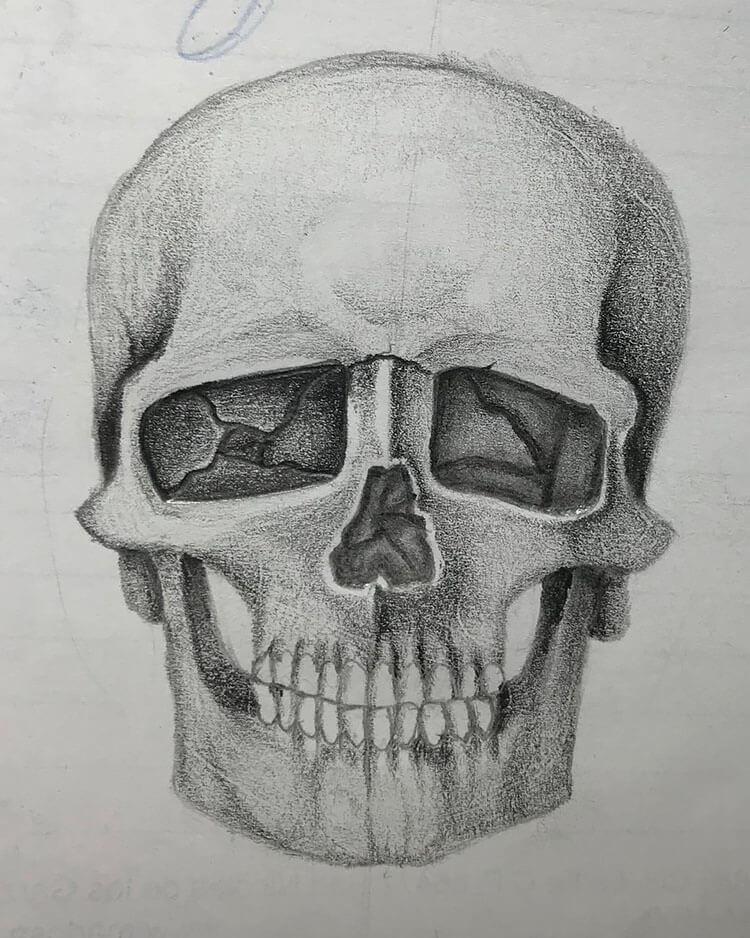 skull stetch