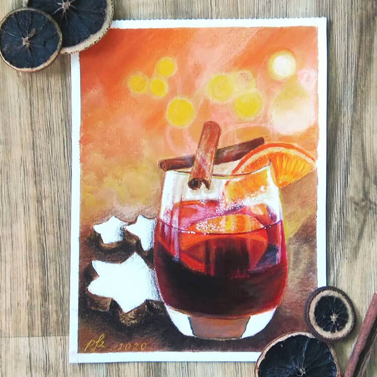 spiced holiday drink