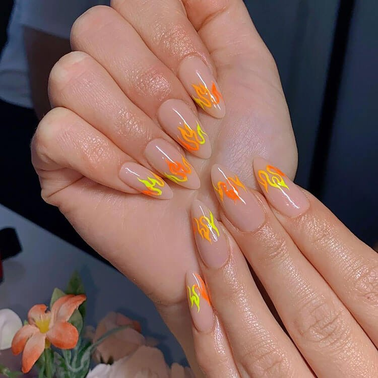 Orange and Yellow Outline
