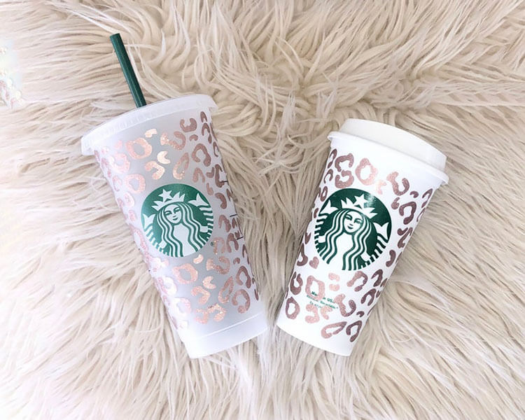 CHEETAH HOT AND COLD DRINK CUP
