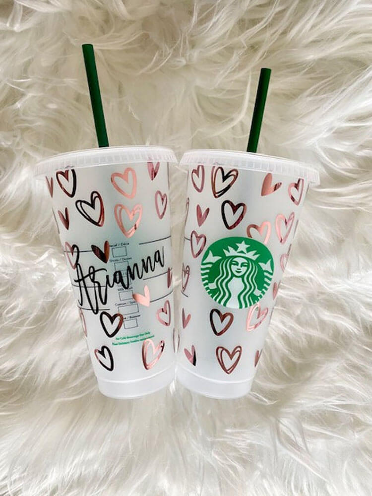 ROSE GOLD COLD CUP