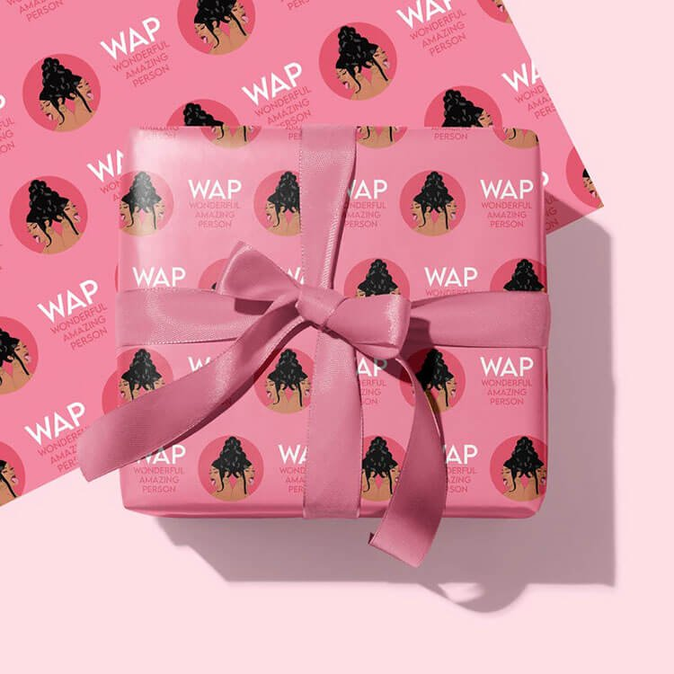 WAP wrapping paper