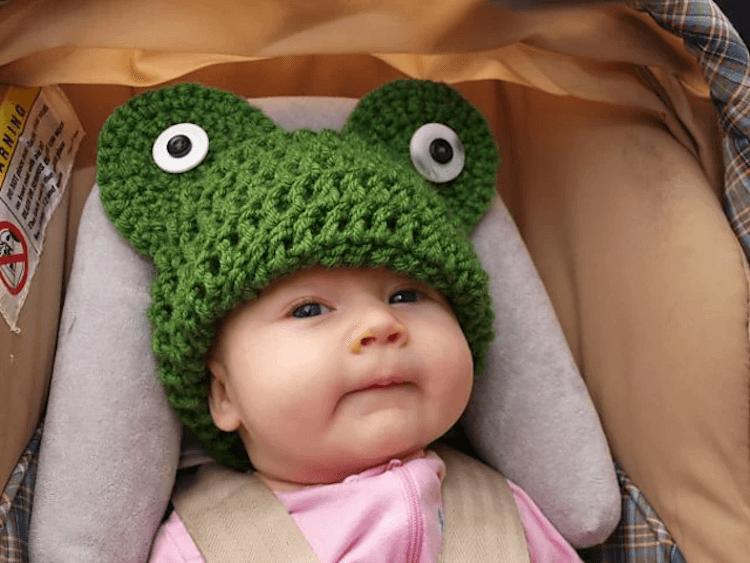 Frog Head Hat