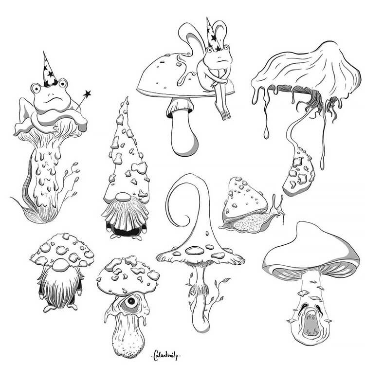 Mushrooms and Toads