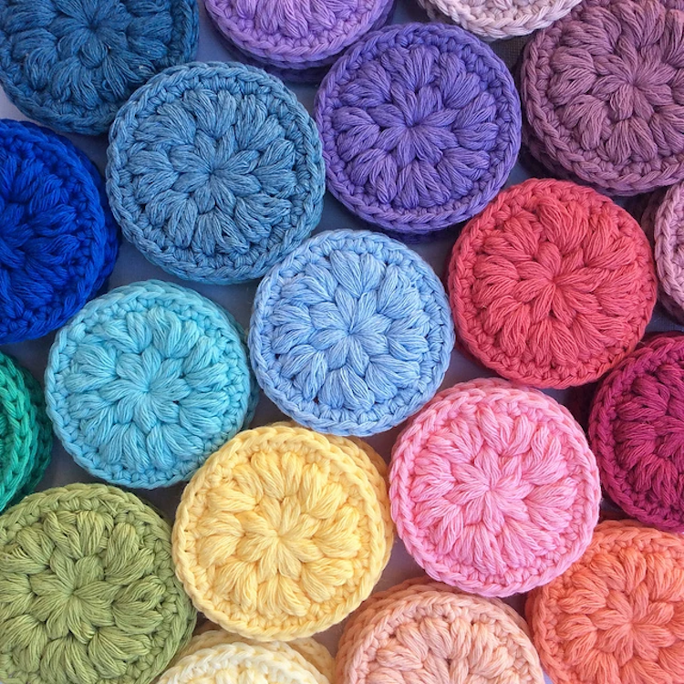 Stitched Up Makeup Scrubbies