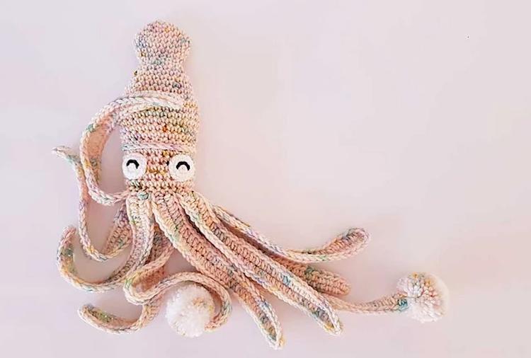 squid crochet pattern